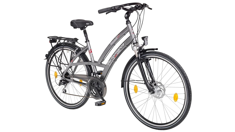 Performance Bicicleta de Trekking Mujer Monte vídeo, 26/28 ...