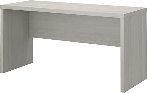 Office by kathy ireland Echo 60W Credenza Desk in Gray Sand