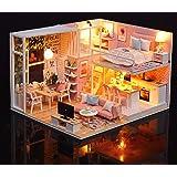 Magic House(マジック ハウス)RealLove ドールハウス ミニチュア LEDとオルゴール(Love story) 付属 防塵ケース付属 手作りキットセット