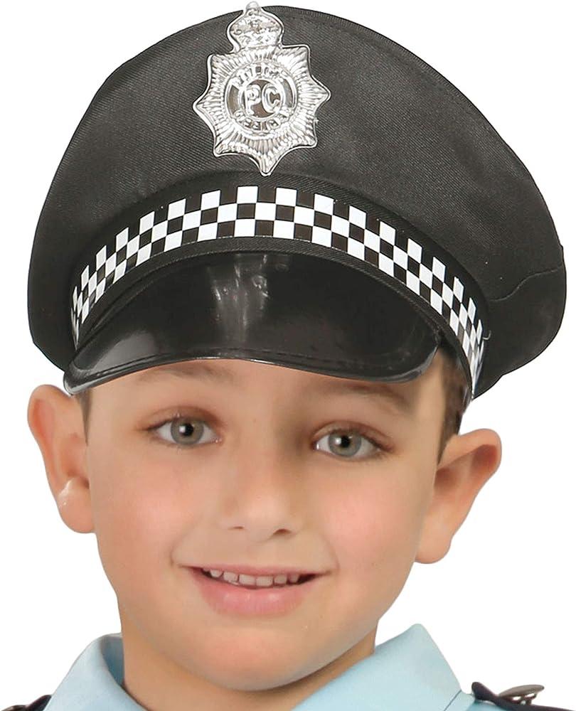 Gorra Policía Municipal infantil: Amazon.es: Ropa y accesorios