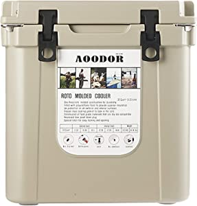 Aoodor Roto Molded Cooler Grizzly Bear Resistant