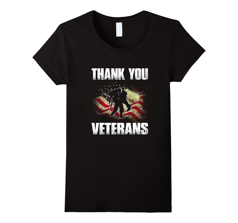 Thank You Veterans T Shirt, Memorial Day Pride Tee