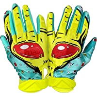 $23 » Battle Double Threat Football Gloves – Ultra-Tack Sticky Palm Receivers Gloves – Pro-Style…