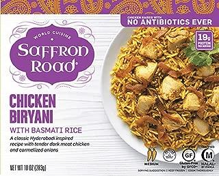 product image for Saffron Road Antibiotic Free Chicken Biryani With Basmti Rice,, 10 Oz (pack Of 8)