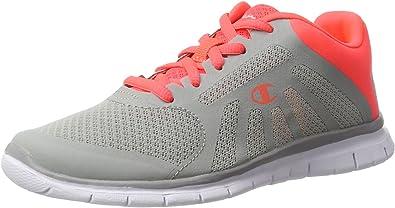 Champion Alpha, Zapatillas de Running para Mujer, Multicolor (NNY/lib-Grau Melange/Pink Lady), 37.5 EU: Amazon.es: Zapatos y complementos