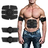 Abs Trainer EMS Abdominal Muscle Stimulator Muscle Toning Belts Home Workout Fitness Device for Men & Women