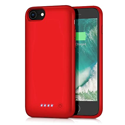 Amazon.com: Xooparc - Funda con batería para iPhone 8/7 ...