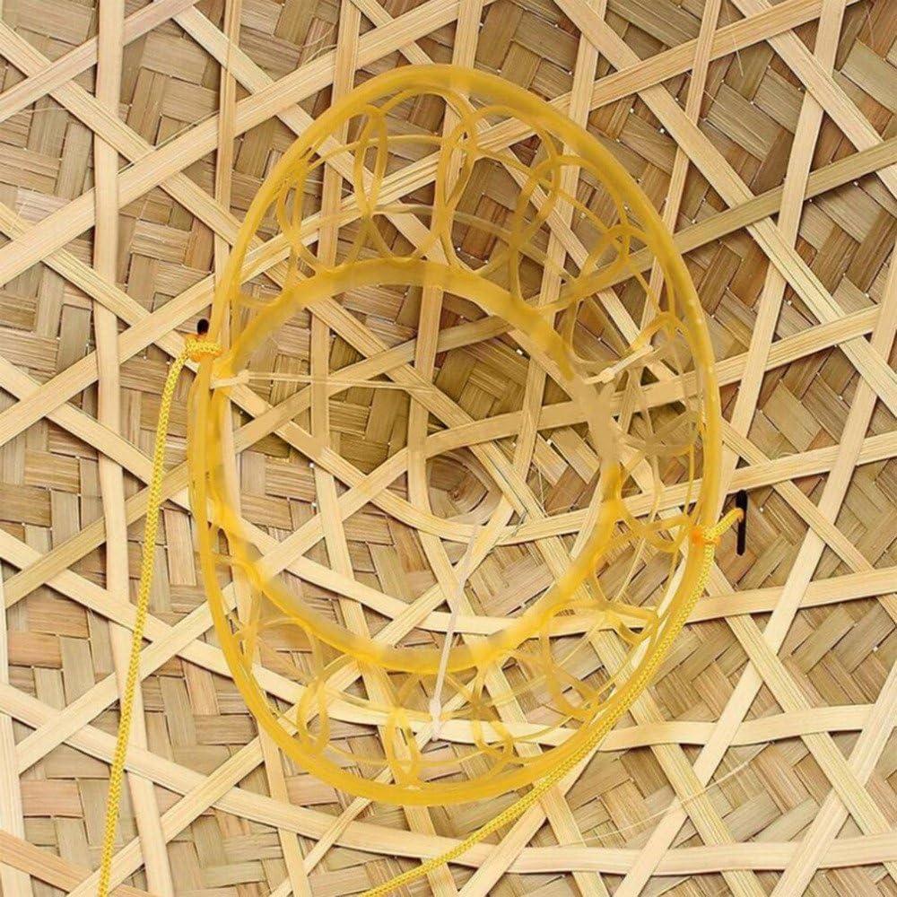 ECYC /Ét/é Cool Bambou Paille C/ône Jardin P/êche Camping /& Randonn/ée Chapeau Pluie Sun Cap