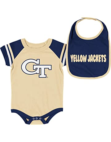 f4128556b Colosseum NCAA-Roll Out- Baby Short Sleeve Bodysuit and Matching Bib 2-Pack