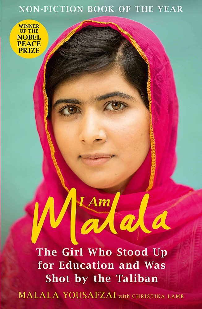 """This is an image of Malala Yousafzai's autobiography: """"I Am Malala: The Girl Who Stood Up for Education and was Shot by the  Taliban Book"""""""
