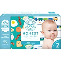 The Honest Company Club Box Diapers with TrueAbsorb Technology, Trains & Breakfast...