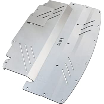amazoncom silver tbw aluminum  tray  infiniti  nissan  engine skid plate