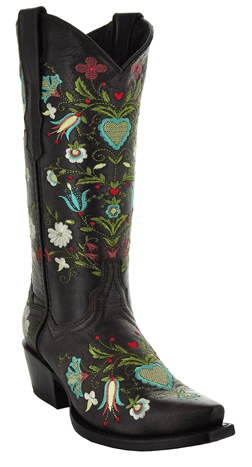 Wildflower Women's Cowgirl Boots by Soto Boots M50030 B075VGFH3C 7 B(M) US