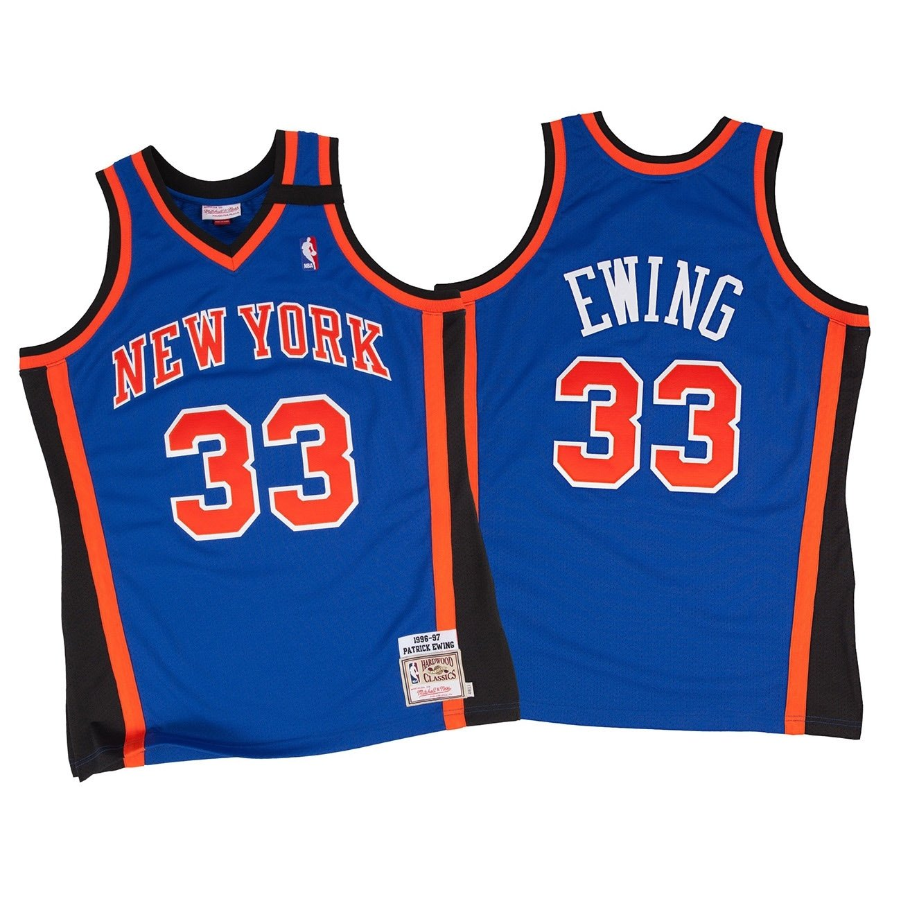 pretty nice 5a1de 6242f Mitchell & Ness Patrick Ewing New York Knicks 1998-99 ...