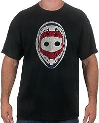bf92d76fb8df Ken Dryden Goalie Mask - Montreal Goaltender Hockey T-Shirt for Men