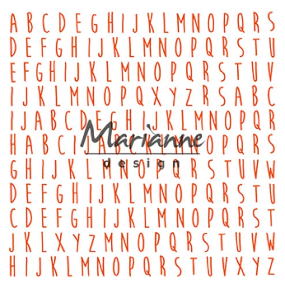 Marianne Design Design Folder ABC, Grey, 17 x 21 x 0.5 cm by Marianne Design