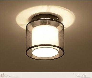 XIN HOME LED cambia de color y luz de techo de cristal de 35 ...