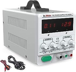 Dr.meter 30V/5A DC Bench Power Supply Single-Output 110V/220V