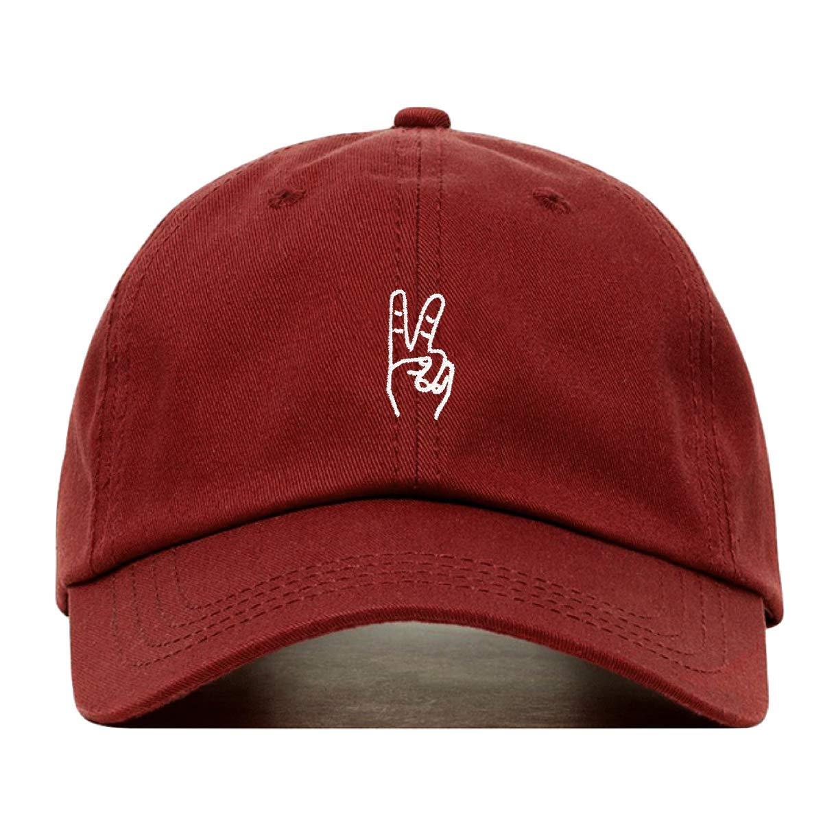 faire broderie HAT ユニセックスアダルト  バーガンディー B079V79GM8