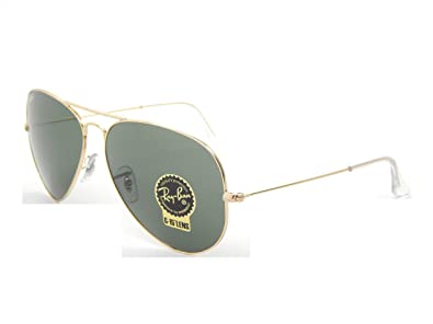 8154acefd80 Image Unavailable. Image not available for. Color  New Ray Ban Aviator  RB3026 L2846 Arista G-15 XLT Lens 62mm Sunglasses