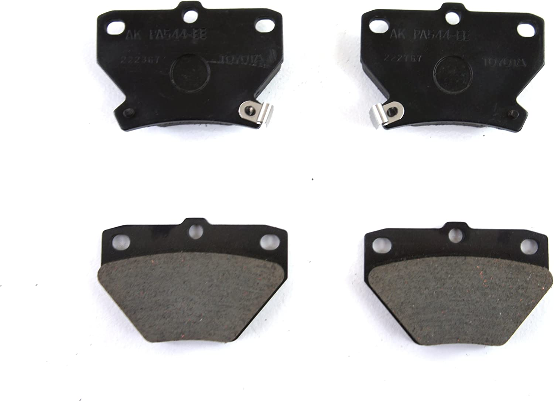 Toyota Genuine Parts 04466-60090 Rear Brake Pad Set