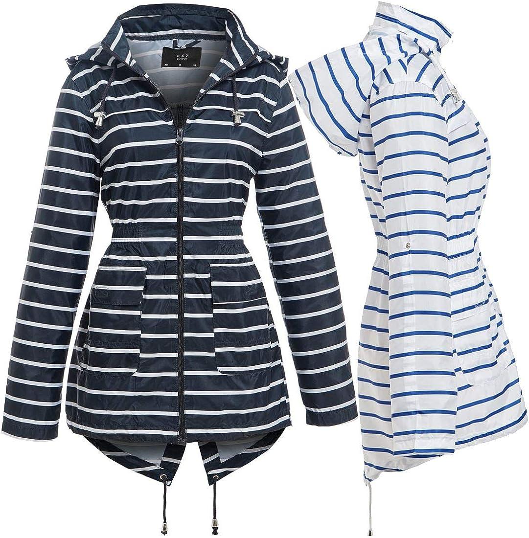 Sizes 8 pour 22 SS7 Femmes Imperm/éable Veste de pluie Jaune Marguerite