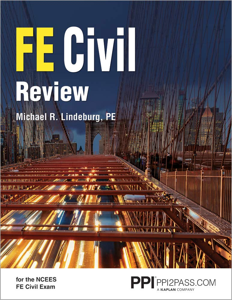 FE Civil Review by PPI, A Kaplan