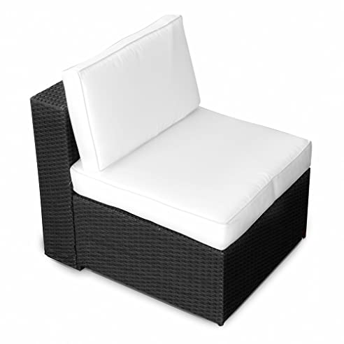 Amazon.De: Xinro (1Er) Polyrattan Lounge Sessel - Mittelteil