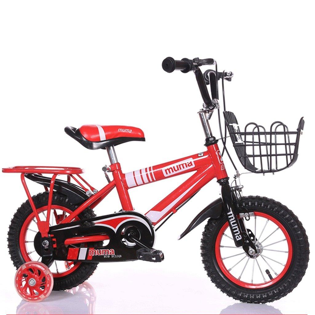 自転車 子供の自転車3歳のベビーペダル自転車2-4-6歳の男の子と女の子6-7-8-9-10歳の赤ん坊の運送 (サイズ さいず : 18inch) B07DPMXDNJ 18inch 18inch