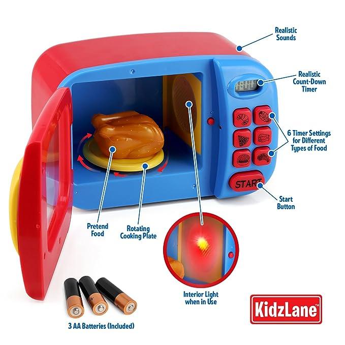Amazon.com: Kidzlane Horno de microondas, Juguete para ...