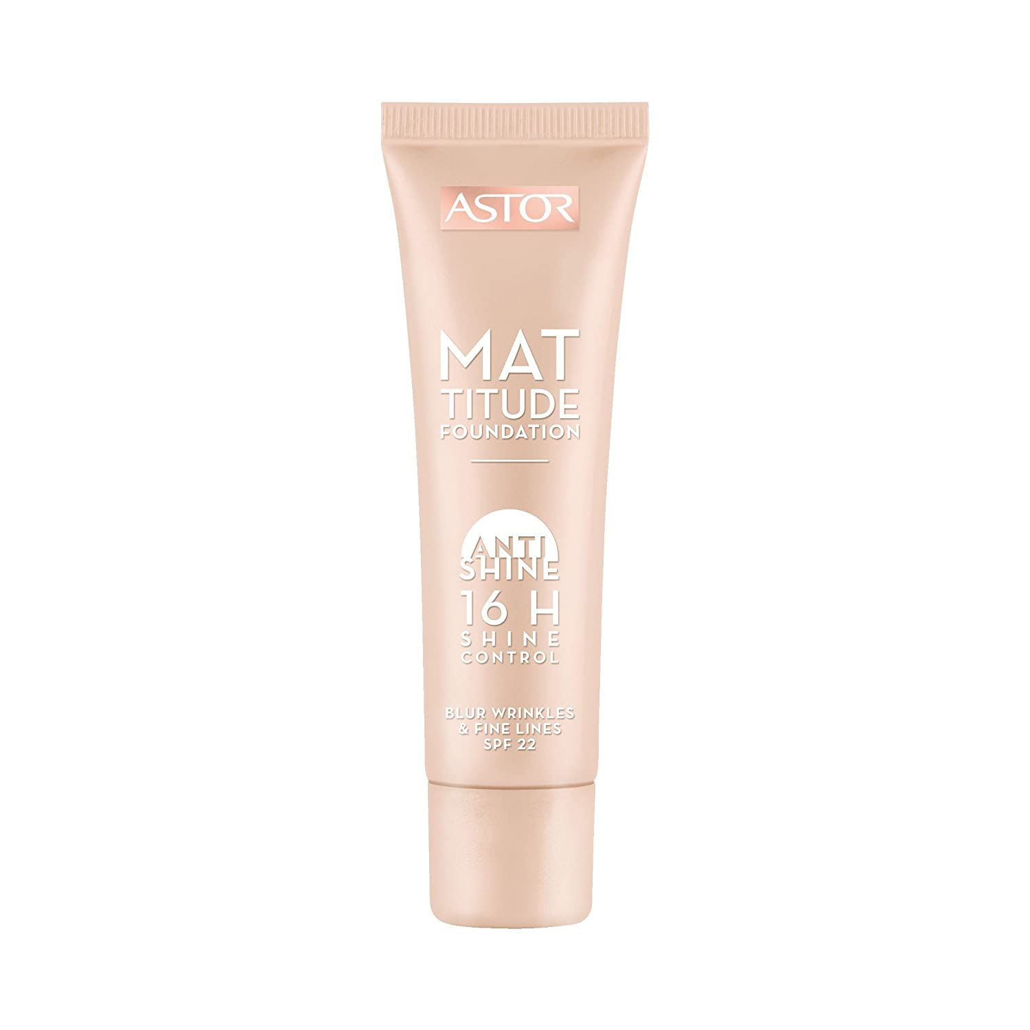 Astor Mattitude Foundation, Farbe 400, 1er Pack (1 x 30 ml) 26005042400