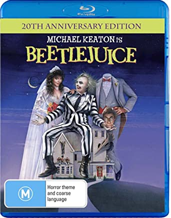 Beetlejuice 20th Anniversary Edition Region B Blu-ray