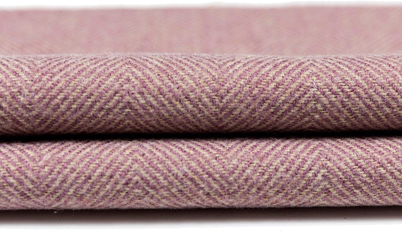 36 Lilac Purple Wool Texture Decor Plush Unfilled Designer Window Draft Stopper McAlister Textiles Boutique Herringbone