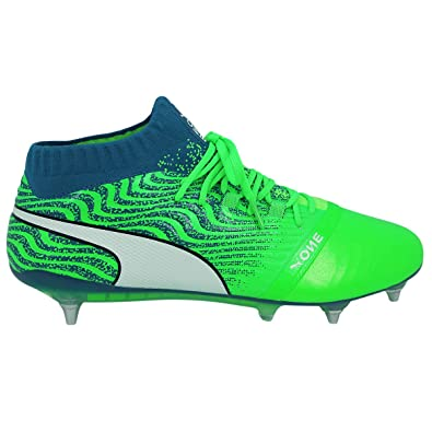 f2b8b737e970 Puma ONE 18 1 MX SG Men Leather Soccer Football Shoes  Amazon.co.uk  Shoes    Bags