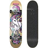 SkateXS Beginner Unicorn Girls Skateboard