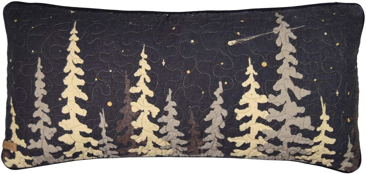 Holly Decorative Merry Christmas Pillow