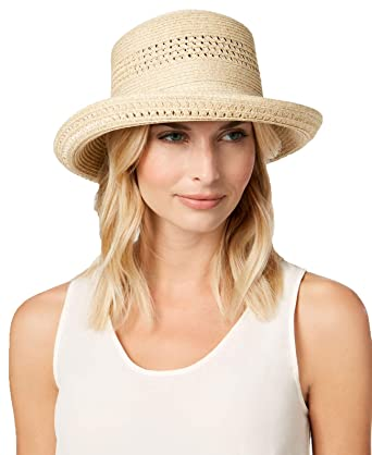 ebddf079174e91 Nine West Packable Kettle Hat (Sand Heather, One Size) at Amazon ...