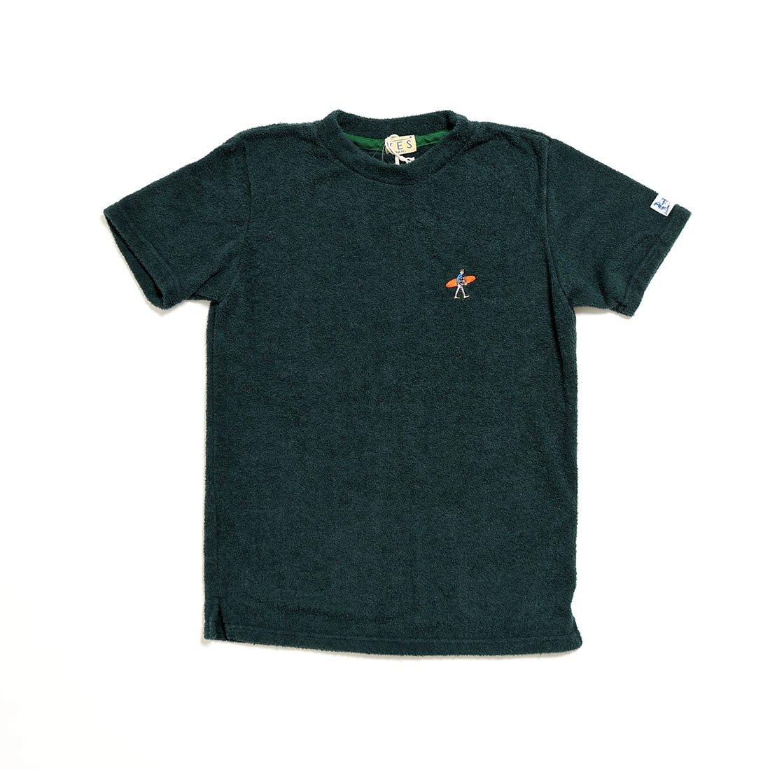 (エンドレスサマー) The Endless Summer パイルTシャツ [TR-8574335] B07CYNH8B7 S|50 D.GREEN 50 D.GREEN S