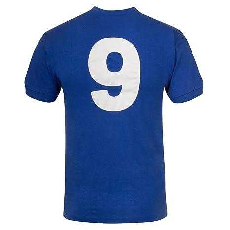 Chelsea FC - Camiseta Primera equipación - para Hombre - Producto Oficial Estilo Retro - Temporada 1972/1976 - Azul 72 - S: Amazon.es: Ropa y accesorios