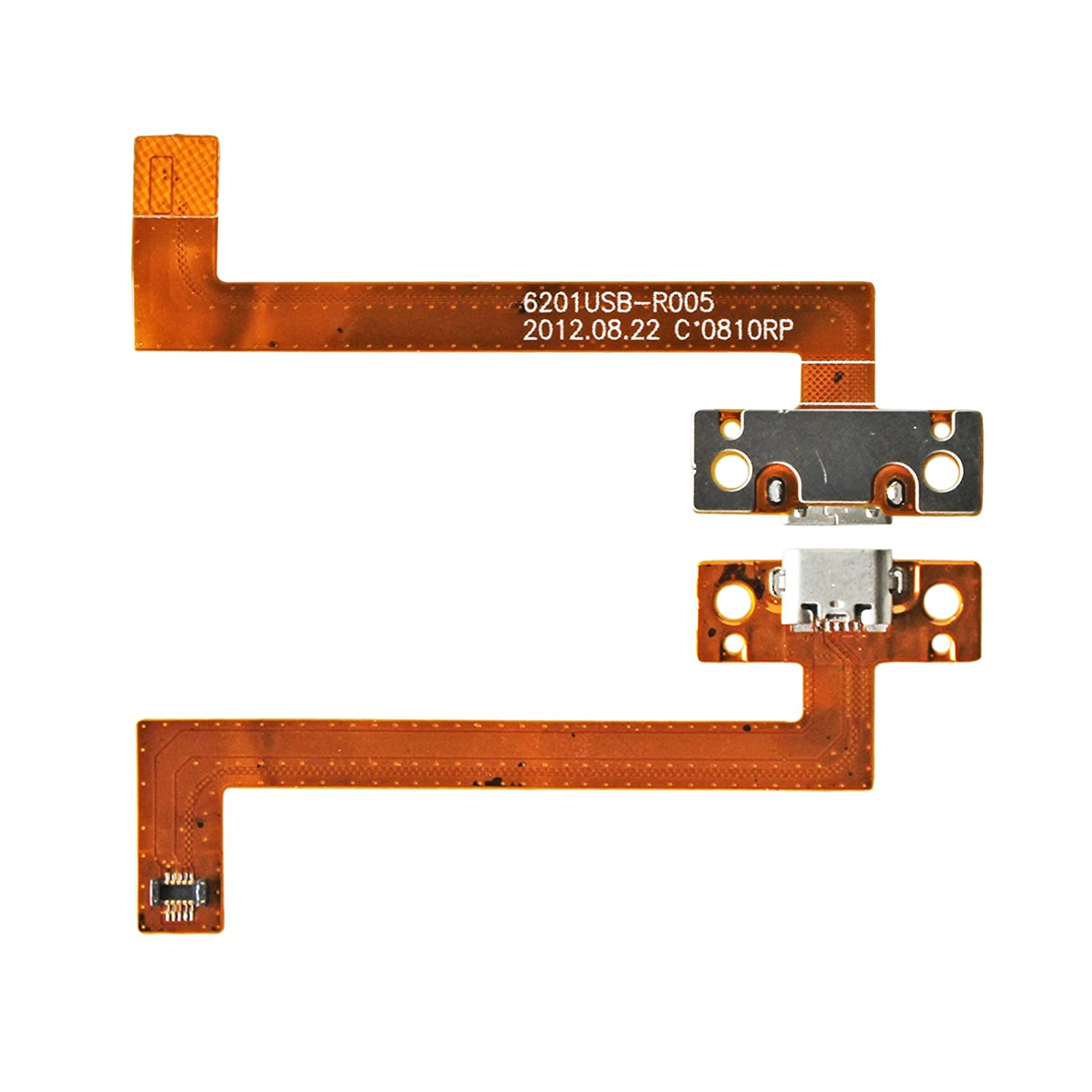 DC Power Jack Micro USB Charging Port Ribbon Flex Cable for Kobo Arc K107 7' Gintai