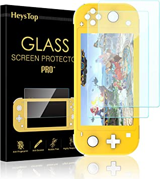 HEYSTOP Protector de Pantalla para Nintendo Switch Lite, 9H,2.5D ...