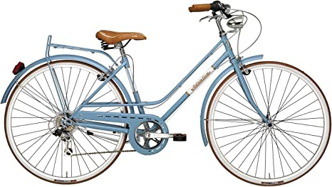 Adriatica - Bicicleta Clasica Mujer Retro Vintage Rondine Azul ...