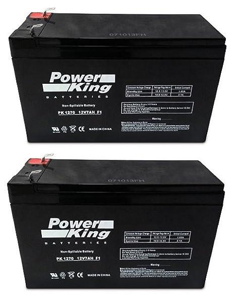 amazon com 12v 7ah sealed lead acid sla battery for razor scooter rh amazon com Sealed Battery SLA Battery Charger Circuit