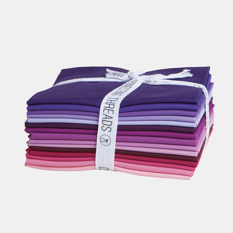Connecting Threads Color Wheel Premium Precut Fabric Bundle (Summer Garden Fat Quarters)