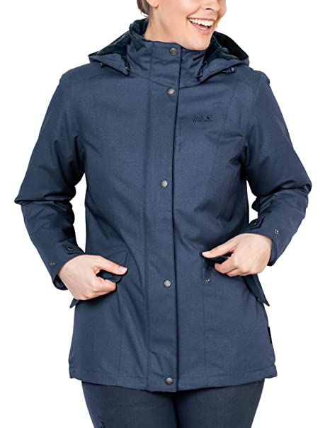 Jack Wolfskin Damen Park Avenue Jacket Wetterschutzjacke