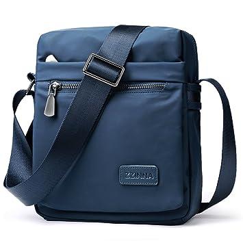7d3f0024293b ZZINNA Man Bag Messenger Bag Crossbody Bags Waterproof Shoulder Bag Man  Purse Purses and Bags for Men and Women