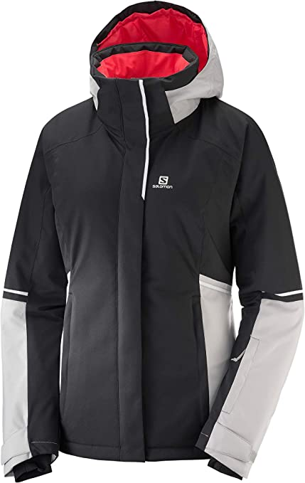 : Salomon Stormseason Ski Jacket BlackVapor