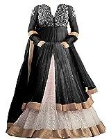 Salwar Style Kid's Net Embroidered Semi-Stitched Lehenga Choli (SS_0710) (8-14 Yrs)