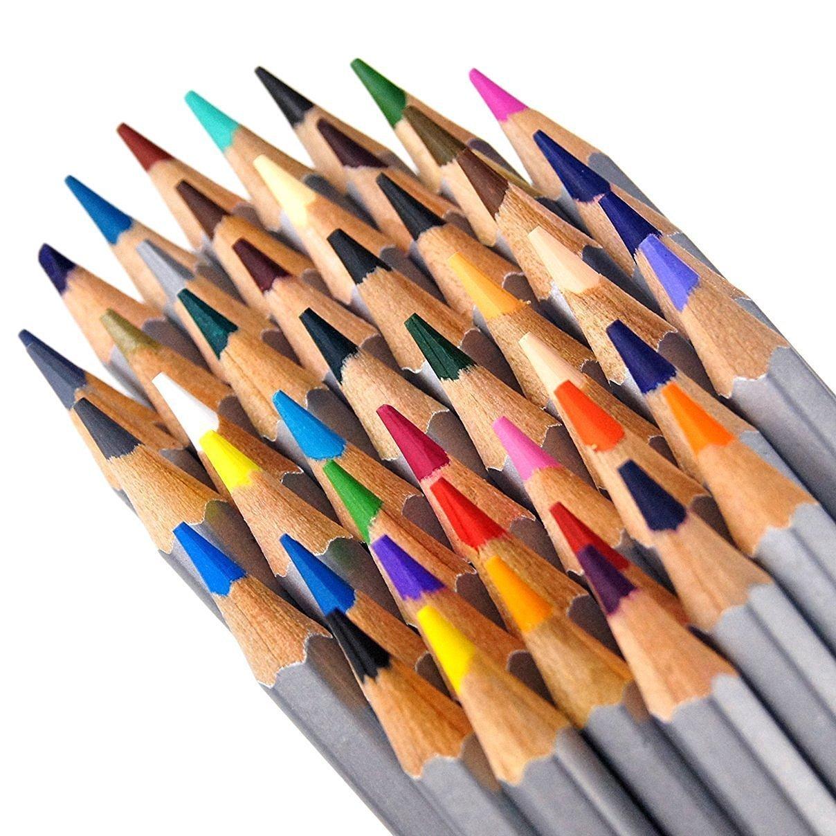 MelonBoat Professional Colored Pencils 24 Sets, 36 Count