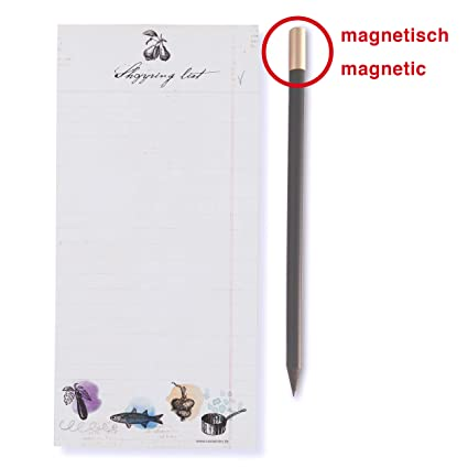 Susi Invierno Diseño & Paper 18033 Shopping List con lápiz ...